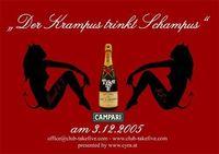 Der Krampus trinkt Schampus@Take Five