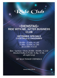 Ride with me / After Business Club@Ride Club