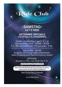 Lets Ride!@Ride Club