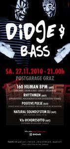 Didge & Bass@Postgarage