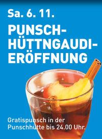 Punschhüttngaudi - Eröffnung