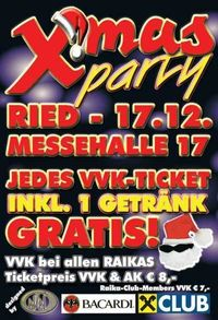 X-Mas Party@Messehalle 17