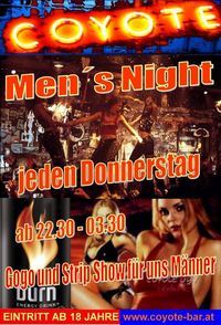Mens Night@Coyote-Bar