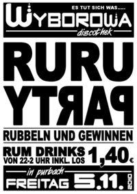 Rubbel Rum Party@Wyborowa