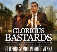 Glorious Bastards - Official Birthday Party@Moulin Rouge
