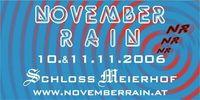 November Rain - Warm up@Schloß Meierhof