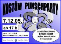Kostüm Punschparty@Sportplatz Thalheim