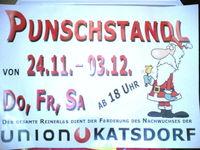 Union Punschstandl Katsdorf@Union Katsdorf