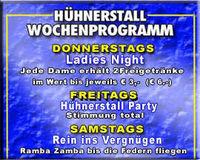 Hühnerstall party@Discostadl Hühnerstall