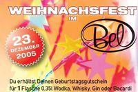 Weihnachtsfest@Disco Bel