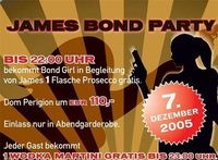 James Bond Party@Disco Bel