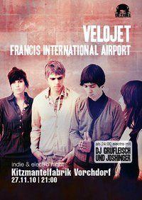Indie & Electro Night mit Velojet@Kitzmantelfabrik