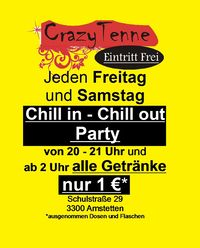 Chill in - Chill out Party@Tenne