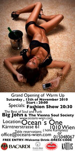 Grandopening - of warm up@Ocean's 1
