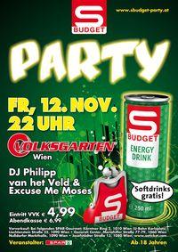 Shake it, Börserl: Wien-Premiere für S-BUDGET-Party