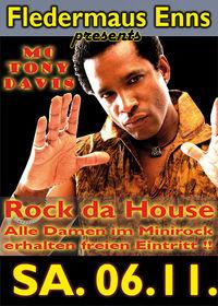 Rock da House mit MC Tony Davis
