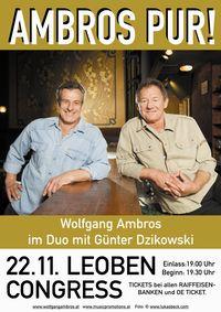 Wolfgang Ambros & Günter Dzikowski - AMBROS pur@Congress