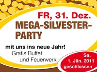 Mega-Silvester- Party@Partymaus Freistadt