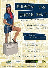 Ready to check in..? - Ball der HBLWM Annahof