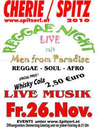 Reggae Night - Live Musik@Tanzcafe Cherie Spitz