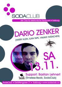 Dario Zenker (Harry Klein, Ilian Tape, Vakant /München) &  Bastian Lehnert (Timeless-Beatz)@Soda Club