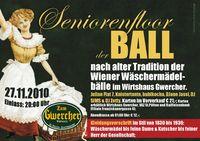 Seniorenfloor – Wäschermädelball @WirZhaus Zum Gwercher