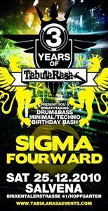3 Years TabulaRasa & Urlito's Birthday Bash feat. SIGMA@VAZ Salvena