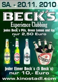 Beck's Experience Clubbing@Kino-Stadl