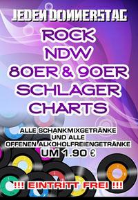 Rock, NDW & 90er Schlager Charts@Kino-Stadl