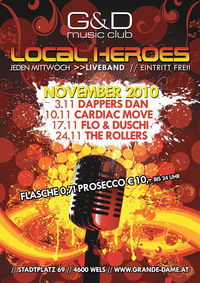 Local Heroes - Cardiac Move@G&D music club