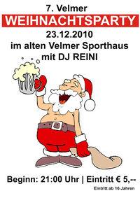 7 Velmer Weihnachtsparty@FSV - Altes Sport Haus