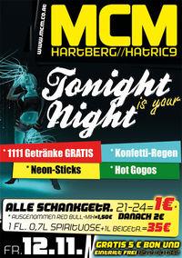 Tonight is your Night!@MCM Hartberg