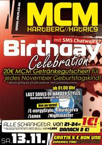 Birthday Celebration mit SMS Chatwall!@MCM Hartberg