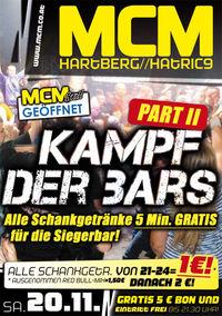 Kampf der Bars, Part II@MCM Hartberg