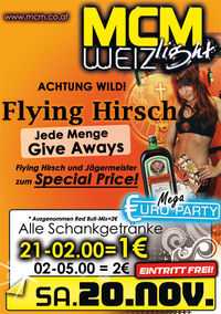 Flying Hirsch