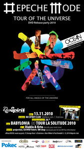 Depeche Mode - Tour of Universe@Nu Spirit Bar