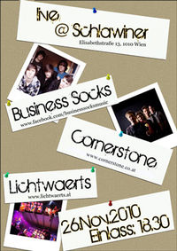 Cornerstone-Lichtwärts-Business Socks