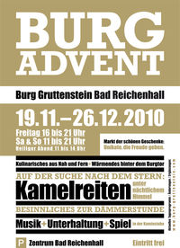 Advent auf Burg Gruttenstein@Burg Gruttenstein
