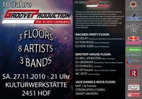 10 Jahre Groove Production@Kulturwerkstätte