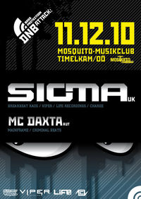 Bass Protection / Drum and Bass Attack pres. SIGMA@Mosquito Musikclub