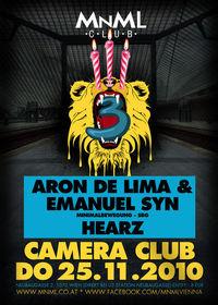 3 Jahre MNML@Camera Club
