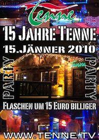 15 Jahre Tenne@Tenne Alpendorf