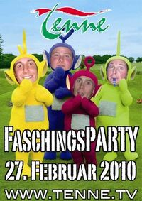 Faschingsparty@Tenne Alpendorf