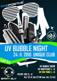 UV Bubble Night