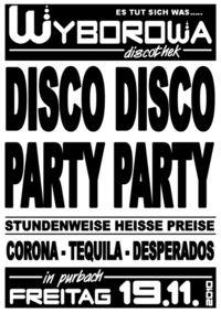 Disco Disco - Party Party@Wyborowa