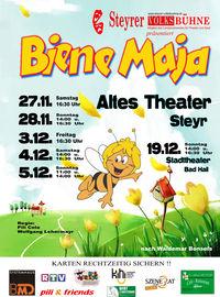 Biene Maja - Steyrer Volksbühne@Altes Theater Steyr