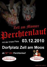 Perchtenlauf Zell am Moos@Dorfplatz Zell/Moos
