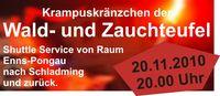 Krampuskränzchen der Wald- und Zauchteufel@Hohenhaus Tenne