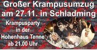 Große Krampusparty@Hohenhaus Tenne