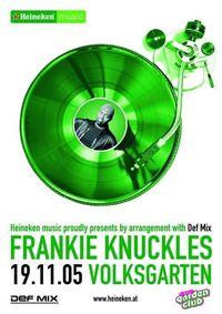 Frankie Knuckles Live @ Garden Club